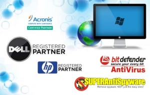 We are a DELL® Registered Partner, as well as a HP Registered Partner | Acronis partner | BitDefender Partner | SuperAntiSpyware Partner | Drive Savers Partner